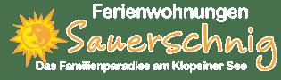 Ferienwohnung / Apartment Klopeinersee Sauerschnig Logo