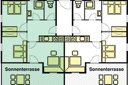 Grundriss Apartment Sylvana