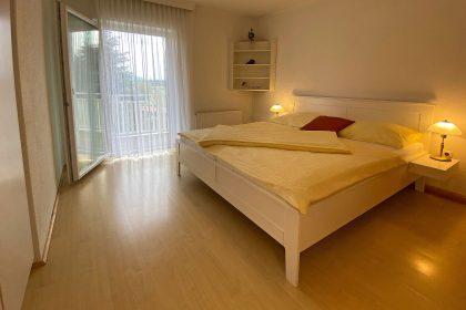 Erstes Schlafzimmer der Ferienwohnung