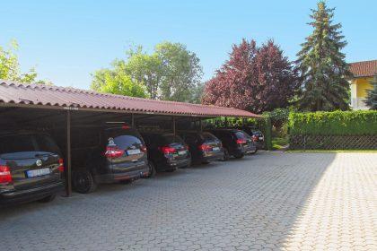 Inkl. Carport für jede Unterkunft